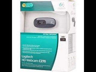 Vind urgent o web camera Logitech C270 noua