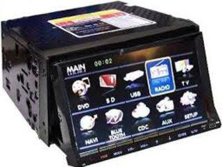 Автомагнитола pioneer 2din  gps+ usb+cd + dvd + tv tuner + bluetooth + ipod + camera