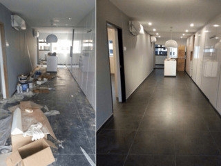 Curatenie dupa reparatie . costructii . renovari -/- уборка после ремонтно-строительных работ