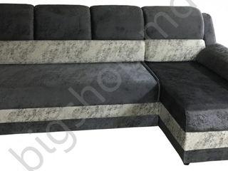 Canapea de colt V-Toms V1+T1 (1.5x2.35) Dark Grey. Posibil în credit!!
