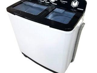 Masina de spalat semiautomata heinner hswm-104bk