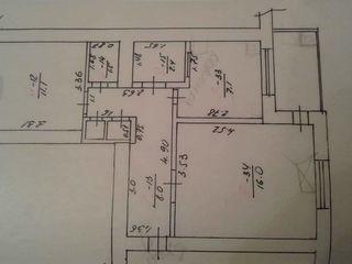 Продам 2-ух комнатную квартиру.Этаж 3/5