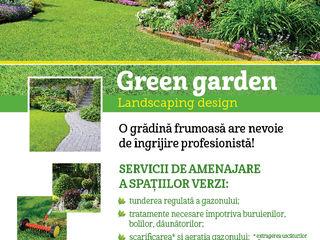 Amenajare a spatiilor verzi!
