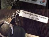 """Эксклюзивный Брелок """"My Home"""" с номером телефона на ключи от квартиры или дома"""