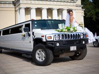 Hummer H2 limuzine de la 40 eur ora + cadou litere Love de 90 cm pentru foto