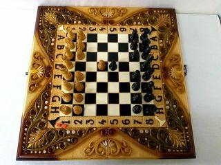 нарды шахматы резные*Фантазия*эксклюзив