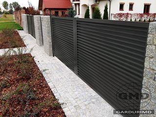 Оцинкованный жалюзийный забор 3D !!!