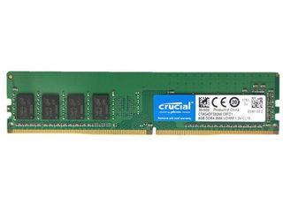 Crucial 8GB DDR-4 -2666 UDIMM 1.2V CL19