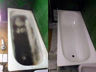 Reinoirea profesionala a cazilor de baie!!! професиональная покраска ванн екологичны