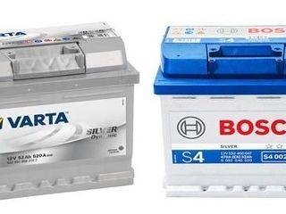 Acumulatoare Bosch - Varta! Livrare, garantie, instalare gratis!!!