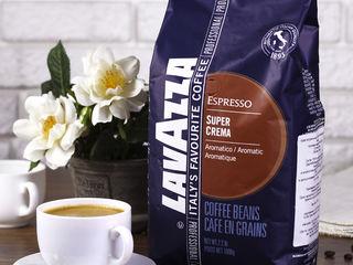 Кофе lavazza super crema. cafea boabe lavaza.