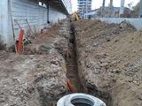 Constructia rețelelor exterioare apeduct și canalizare  canali