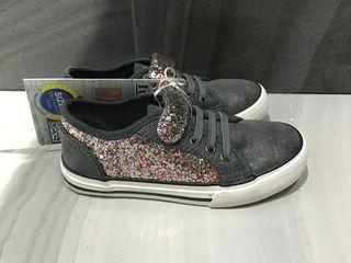 Новые удобные,стильные и сияющие кроссовочки для девочки-р.27