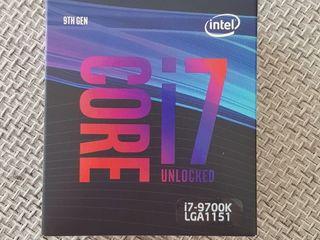Intel core i7 - 9700K