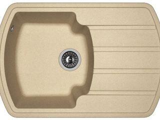 Раковина для кухни, Бренд: (Florentina), Модель (NIRE 760). Качество Премиум. Гарантия 20 лет.