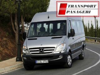Transport pasageri zilnic Moldova - Germania.