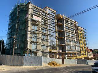 79m2, nou casa cărămidă cu 5 etaje, ascensor, bloc locativ nou la Buiucani