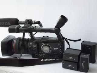 Продается Камера Canon XH A1 + 3 Canon  аккумулятора+и Canon зарядное+микрофон RODE NTG-1