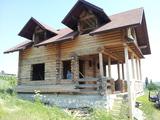 Недостроенный дом из бруса Экзотическое место
