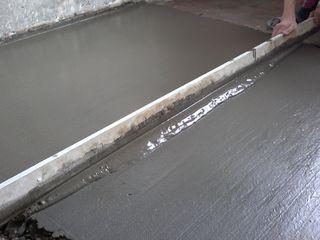 Tencuirea si indreptarea peretilor - mp75 sau ciment - turnarea sapei - lucrari cu betonul