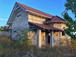 Casă în comuna Grătiești, 2 nivele, 147 mp (variantă sură)