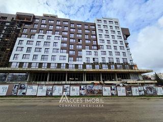Alpha residence! str. onisifor ghibu, 2 camere + living. variantă albă!