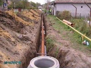 Sapam canalizare si instalarea apeductului  sapăm drenaj -30%