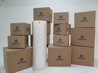 Упаковочные материалы для переезда в Кишиневе/ Ambalaje.md/ Cutii din carton/ Peliculă stretch
