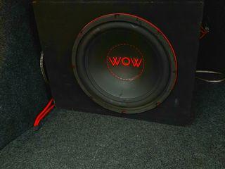 Саб Wow Prodigy 1200w + усилитель  1400w+ новые провода  - 2300 лей