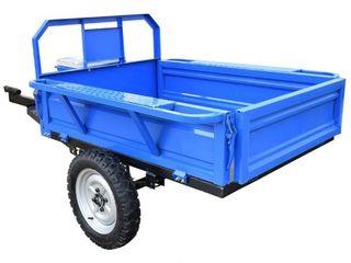 Прицеп для мотоблока 4 синий  c доставкой на дом бесплатно