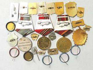 Insigne și medalii/медали и значки