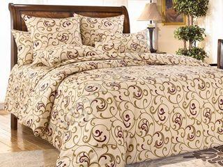 Lenjerie de pat satin monograma. livrare gratuită!!