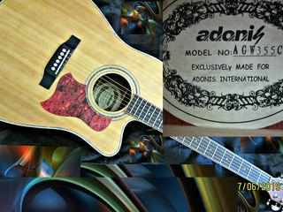 Dreadnought cutaway guitar=2180 mdl Electro Acoustik Guitar!