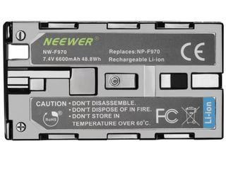 Два аккумулятора NP-F970+двойное зарядное устройство