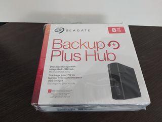 Seagate Backup Plus HUB 8 Tb внешний накопитель USB 3.0