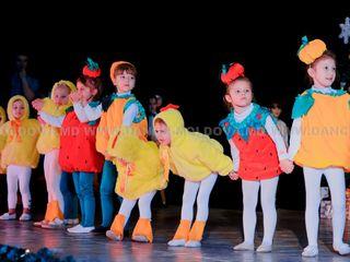 Scoala de dans pentru copii. Studioul de dans Exclusiv