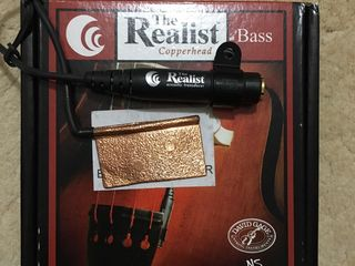 Doza pentru contrabas David Gage The Realist Bass Copperhead
