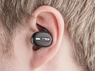 Casti Bluetooth Trust Duet2 Negre