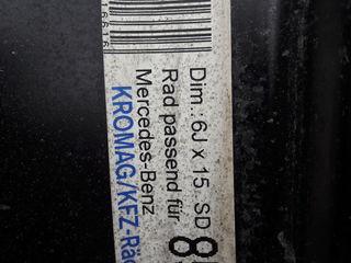 Штампованные диски Mercedes R15
