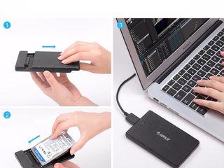 HDD, SSD, HDD Caddy, case Orico, USB sata , E-yield - HDD box - внешний диск - external case
