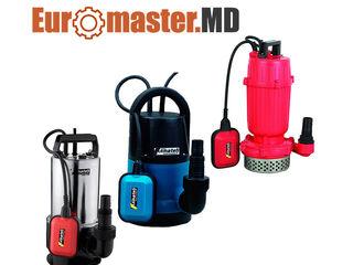 Pompa pentru apa curata / murdara / Motopompe de apa murdara si curata / Euromaster.