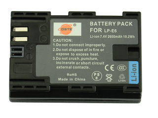 Аккумулятор LP-E6 для 5D Mark II, Mark III, 6D, 7D, 60D