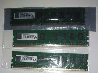DDR3 2/4/8GB 1600/1866Mhz