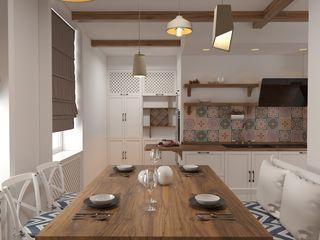 Apartament in stil Rustic Mediteranean modern