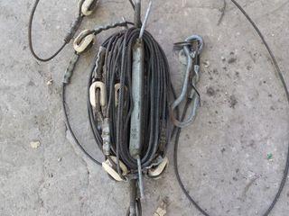 Отяжка ствола мачты