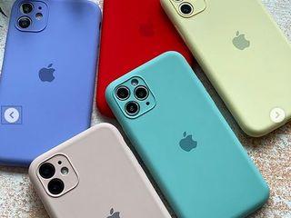 Силиконовый чехол для iPhone Silicone Case Full