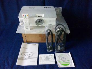 новый проектор ACER с HDMI в коробке