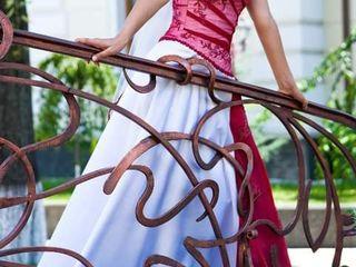 свадебное платье. невенчанное