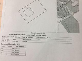 Se vinde urgent  teren locativ cu fundament pornit spre constructie