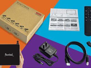 Мультимедийная интернет приставка Android WiFi Smart TV Box HD 4K Аксессуары